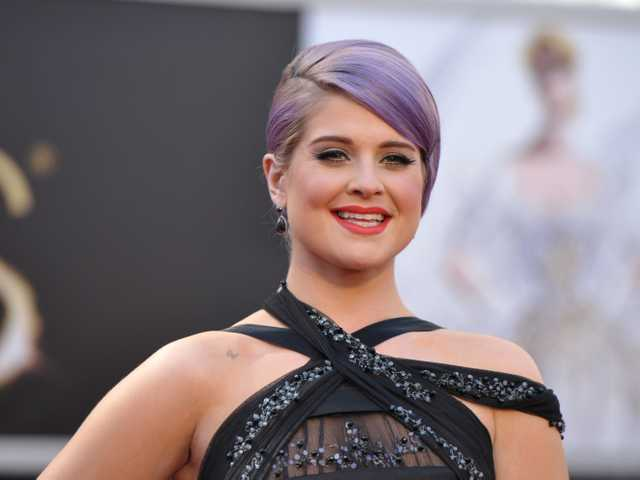 In this Feb. 24 file photo, TV personality Kelly Osbourne arrives at the 85th Academy Awards at the Dolby Theatre in Los Angeles. (AP)