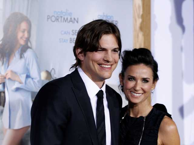 Demi Moore is seeking spousal support from Ashton Kutcher, after more than six years of marriage, according to divorce paperwork filed Thursday.