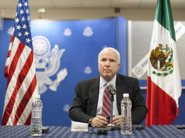 Sen. McCain slams release of illegal immigrants