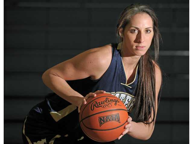 The Master's College junior forward Jacqui Marshall played two years for the NCAA Division I University of California, Irvine team before transferring to TMC this season.