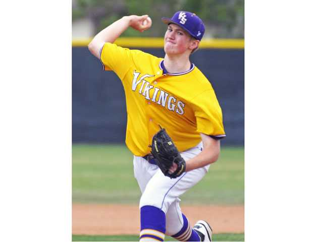 Valencia pitcher J.D. Busfield showed great potential last year, earning the title of Valencia's ace.