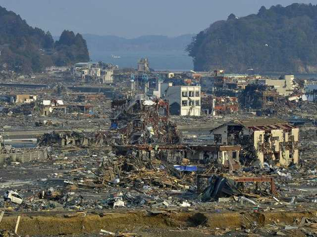 More than 10,000 people could die when a monster earthquake and tsunami occur off the Pacific Northwest coast. Above, next week Japan observes two years since its earthquake and tsunami.