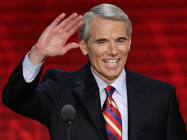 Portman said Thursday that he now supports gay marriage and says his reversal on the issue began when he learned one of his sons is gay. (AP)