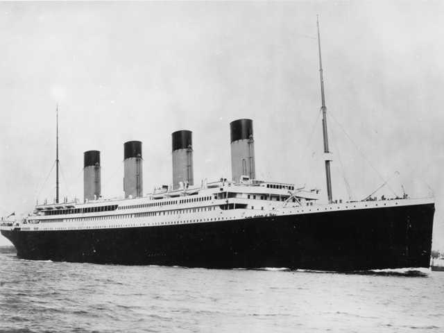 The violin played by the bandmaster of the Titanic as the oceanliner sank has been unearthed. (AP)