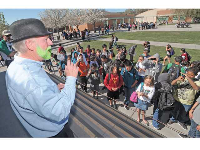 La Mesa Junior High Principal goes green