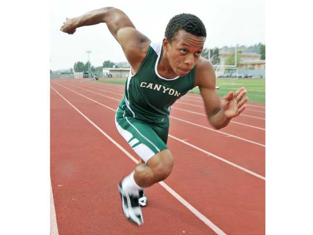 Canyon track and field's Devin Baldwin: Endless tenacity