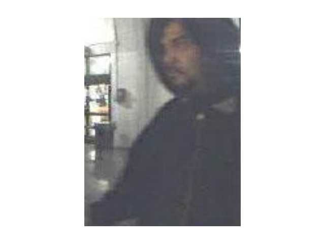 A photo of the suspect in the Sam's Club attempted robbery.