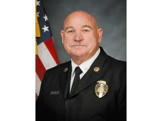 New Assistant Fire Chief Dean G. McGuire