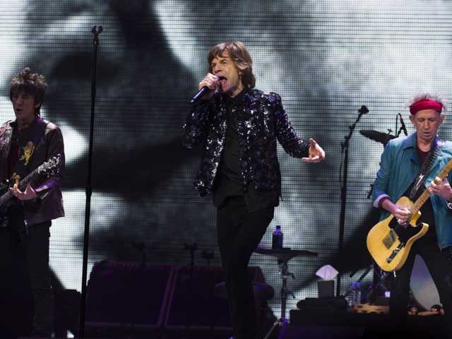 Ronnie Wood, from left, Mick Jagger and Keith Richards of The Rolling Stones Dec. 8, 2012. The band is expected to release their upcoming tour on Wednesday.