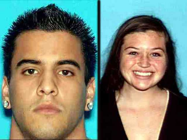 Hiker Nicholas Cendoya, left, and Kyndall Jack, right, have both been missing since the weekend in the Orange County area.