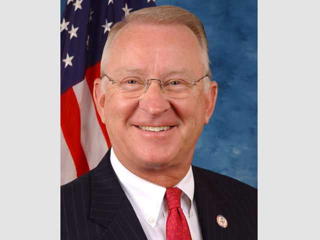 "Congressman Howard ""Buck"" McKeon."