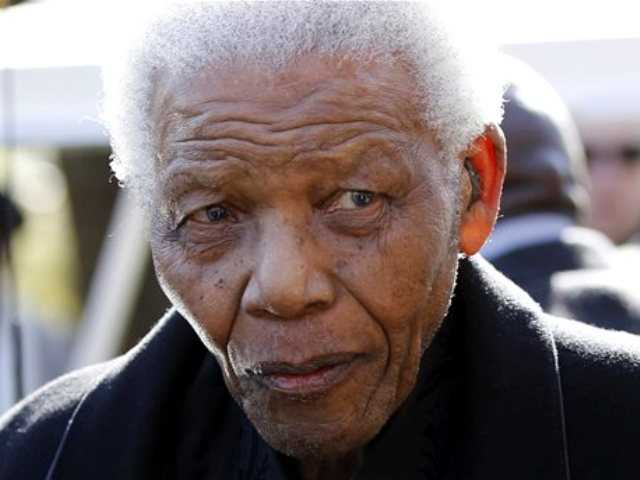 The South African presidency says Nelson Mandela has been discharged, Saturday, April 6, 2013, from a hospital after an improvement in his condition. Officials say he was treated for pneumonia.