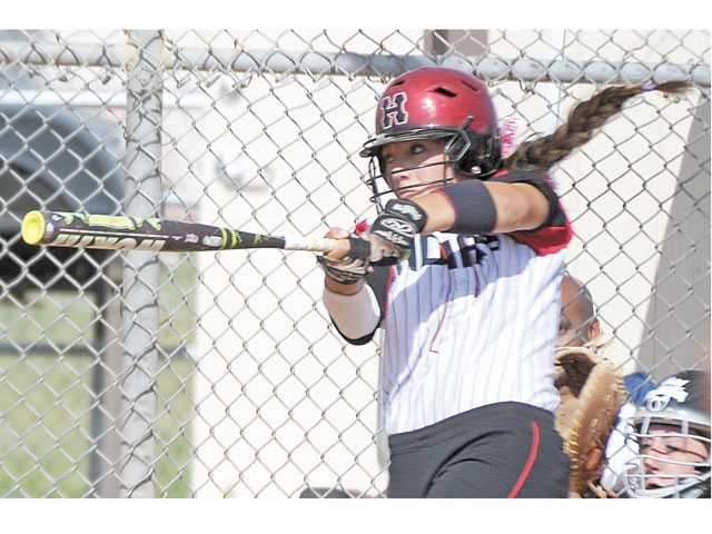 Hart's Paxton Provost is one of the Foothill League's top returning hitters this season.