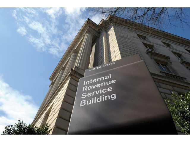This March 22 photo shows the exterior of the Internal Revenue Service building in Washington.