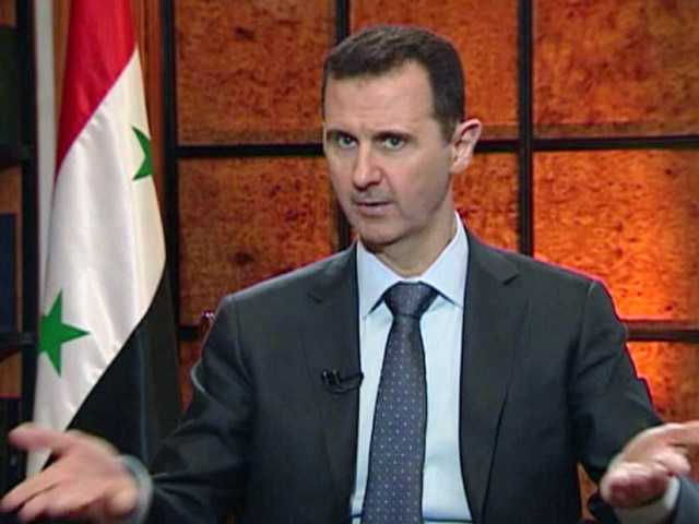 Assad accuses West of backing al-Qaida in Syria
