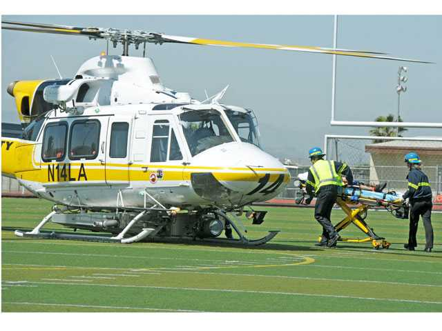 UPDATE: Canyon Country: Child airlifted to L.A. hospital