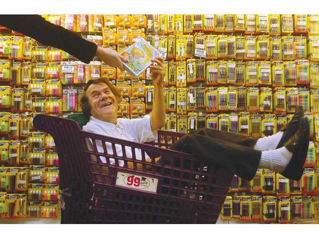 Dave Gold, founder of the 99 Cents Only Stores chain, is photographed on Dec. 24, 2002 in Los Angeles. Gold died of an apparent heart attack on Monday.
