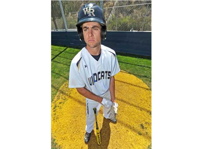 Tony Slauson is batting .348 for West Ranch with 14 RBIs. The senior is already getting interest from Cal State University schools.