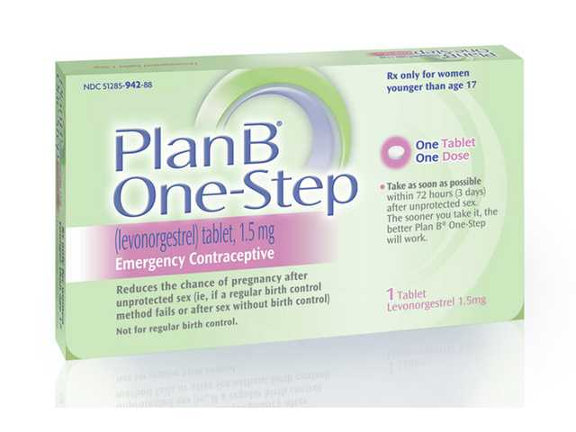 "This image shows the packaging for their Plan B One-Step (levonorgestrel) tablet, one of the brands known as the ""morning-after pill."" The Plan B morning-after pill is moving over-the-counter, a decision announced by the Food and Drug Administration just days before a court-imposed deadline."