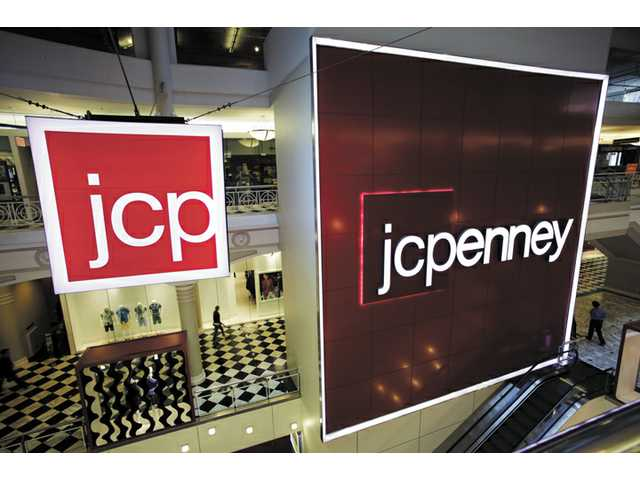 J.C. Penney returned to newspapers on Friday by advertising discounts for shoppers after the company fired its CEO for getting rid of most sales and alienating loyal customers.