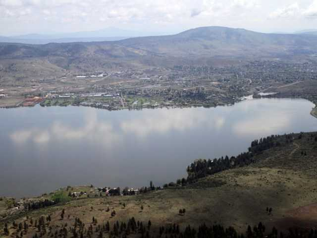 Upper Klamath Lake in Oregon. With drought looming, cattle ranchers and farmers may lose access to rivers and wells as the Klamath Tribes take control of senior water rights.