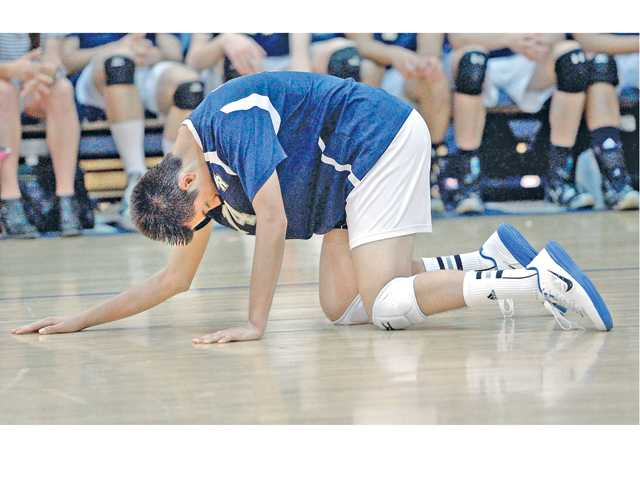 West Ranch volleyball ousted in first round