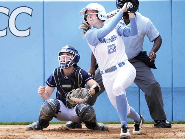 Saugus graduate Jenna Kelly will suit up for the North Carolina Tar Heels on Friday. Photo by Jeff Camarati/UNC Athletics