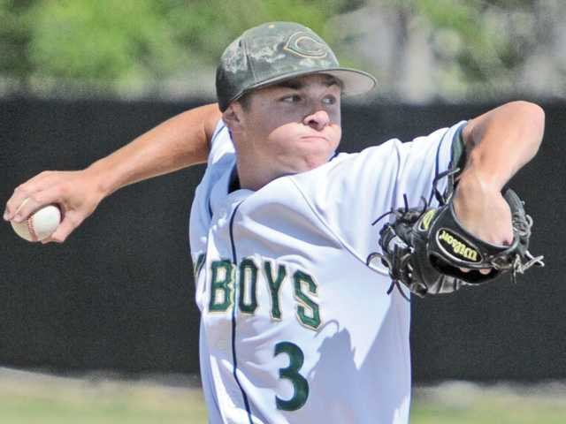 Canyon pitcher/shortstop Max Weinstein was named the Foothill League 2013 Player of the Year.