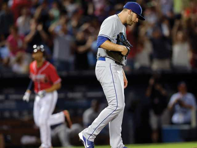 MLB: Dodgers slammed in Atlanta