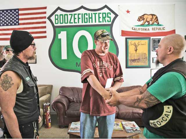 Local bikers embrace their military roots