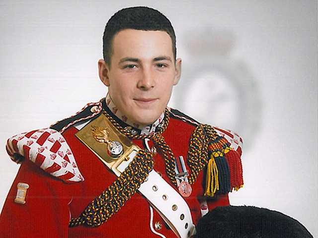 Lee Rigby, known as 'Riggers' to his friends, a member of the armed forces, was attacked and killed by two men in London on Wednesday.