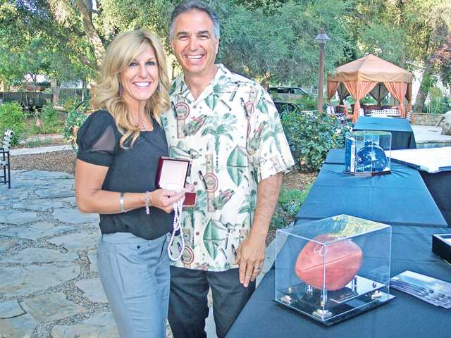 Boys & Girls Club of SCV 42nd annual Benefit Auction co-chairs Jayne and Chris Fall.