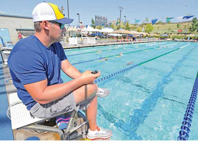 Halfway through year one under Coley Stickels, Santa Clarita's Canyons Aquatics is in good shape