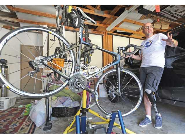 Santa Clarita amputee gears up for 620-mile ride