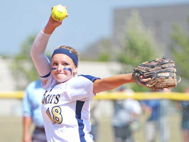 Sophomore Lexi Sorensen earned the Pitcher of the Year award in her first varsity season.