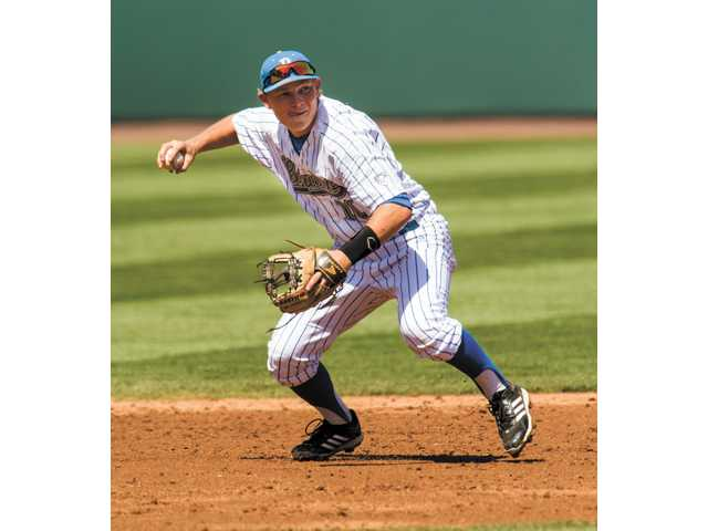Hart graduate and UCLA shortstop Pat Valaika is one of five athletes with Santa Clarita Valley ties participating in this weekend's NCAA baseball tournament.