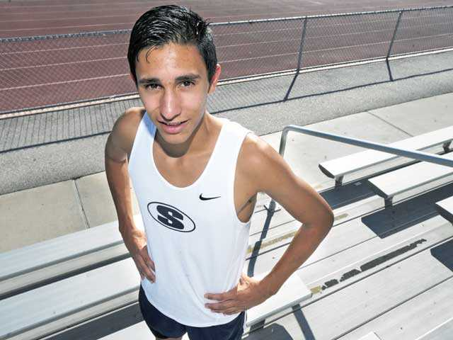 Saugus senior Rodrigo Ornelas was a member of the Centurions' cross country team that took second place in the state.