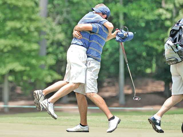 Max Homa, Cal golf move on to NCAA semifinals