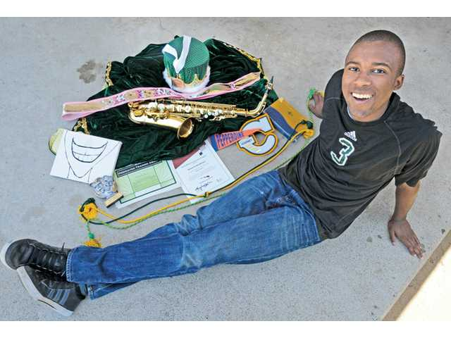 2013 Canyon High graduate Amoni Henderson was bullied as a young kid, but he became an outgoing teenager. Dan Watson/The Signal