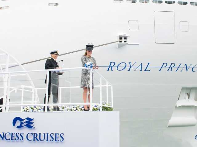 Royal Princess Naming Ceromony June 13, 2013. Steve Dunlop/courtesy photo.
