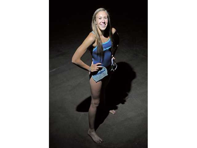 Saugus sophomore Abbey Weitzeil remained the valley's top swimmer this year, winning two Foothill League and two CIF-Southern Section Division I titles.