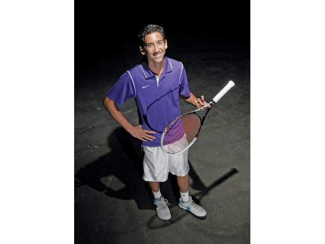 All-Santa Clarita Valley boys tennis: Valencia's Chad LeDuff