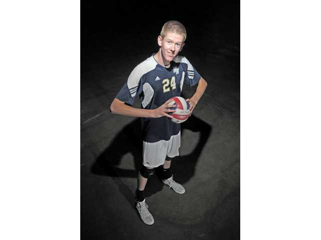 West Ranch senior outside hitter Tanner Skabelund signed his National Letter of Intent with Brigham Young University. Dan Watson/The Signal