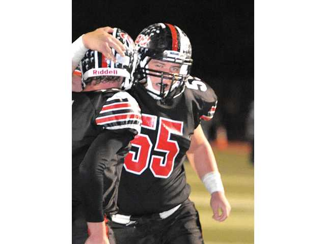 Hart senior lineman Blake Porter was given an offer to play at Northern Arizona University, Hart football head coach Mike Herrington said.
