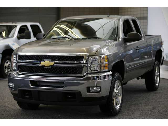 This photo shows the Chevrolet Silverado 3500 4WD truck. Porsche and GMC have the highest-quality vehicles in a new U.S. survey of cars.