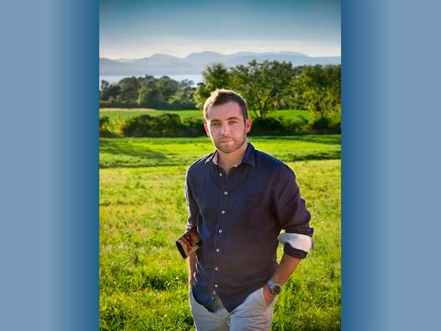 This undated photo provided by Blue Rider Press/Penguin shows award-winning journalist and war correspondent Michael Hastings. Hastings, an award-winning journalist and war correspondent, died early Tuesday in a car accident in Los Angeles, his employer and family said.