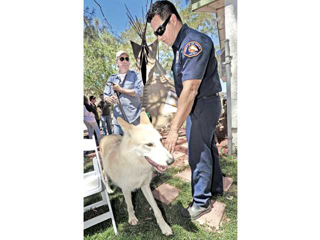 Lake Hughes foundation holds event to thank firefighters