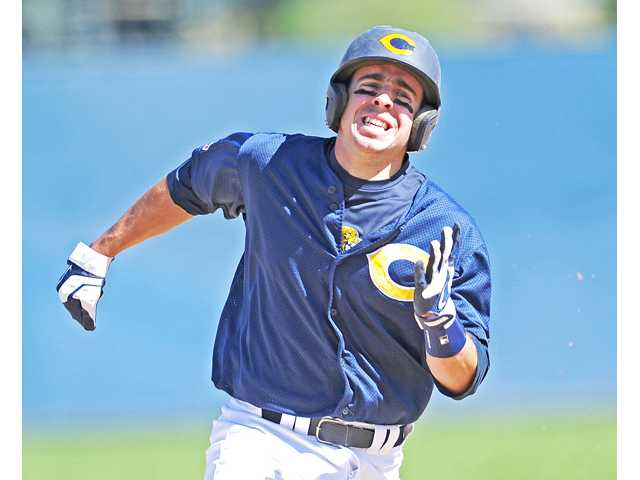 Valencia grad and COC baseball player Alex Bishop was named  a Southern California All-American this season.