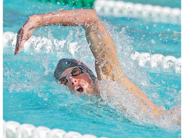 Hart High junior Matt Johnson was named All-Santa Clarita Valley Boys Swimmer of the Year this season after winning four foothill league titles and finishing second in CIF-Southern Section Division I in the 200-yard freestyle.