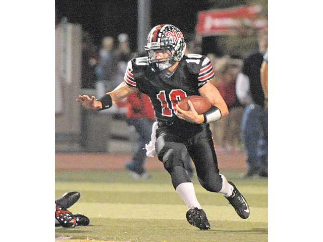 Hart's Connor Wingenroth moved to running back this season and was named All-CIF in the Northern Division.